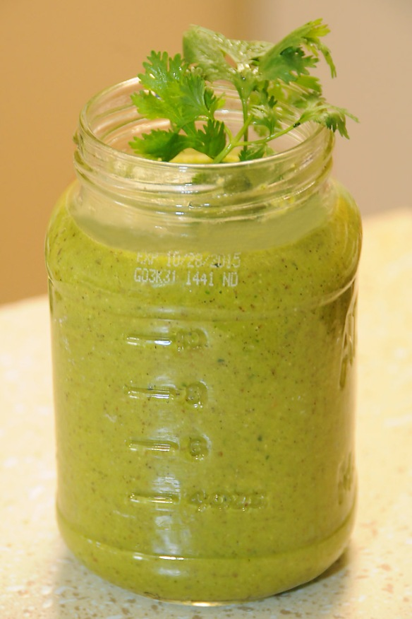RT Cilantro Spicy Detox Smoothie